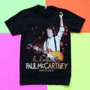 2009 Paul McCartney Summer Live 09 NYC Tour Tee